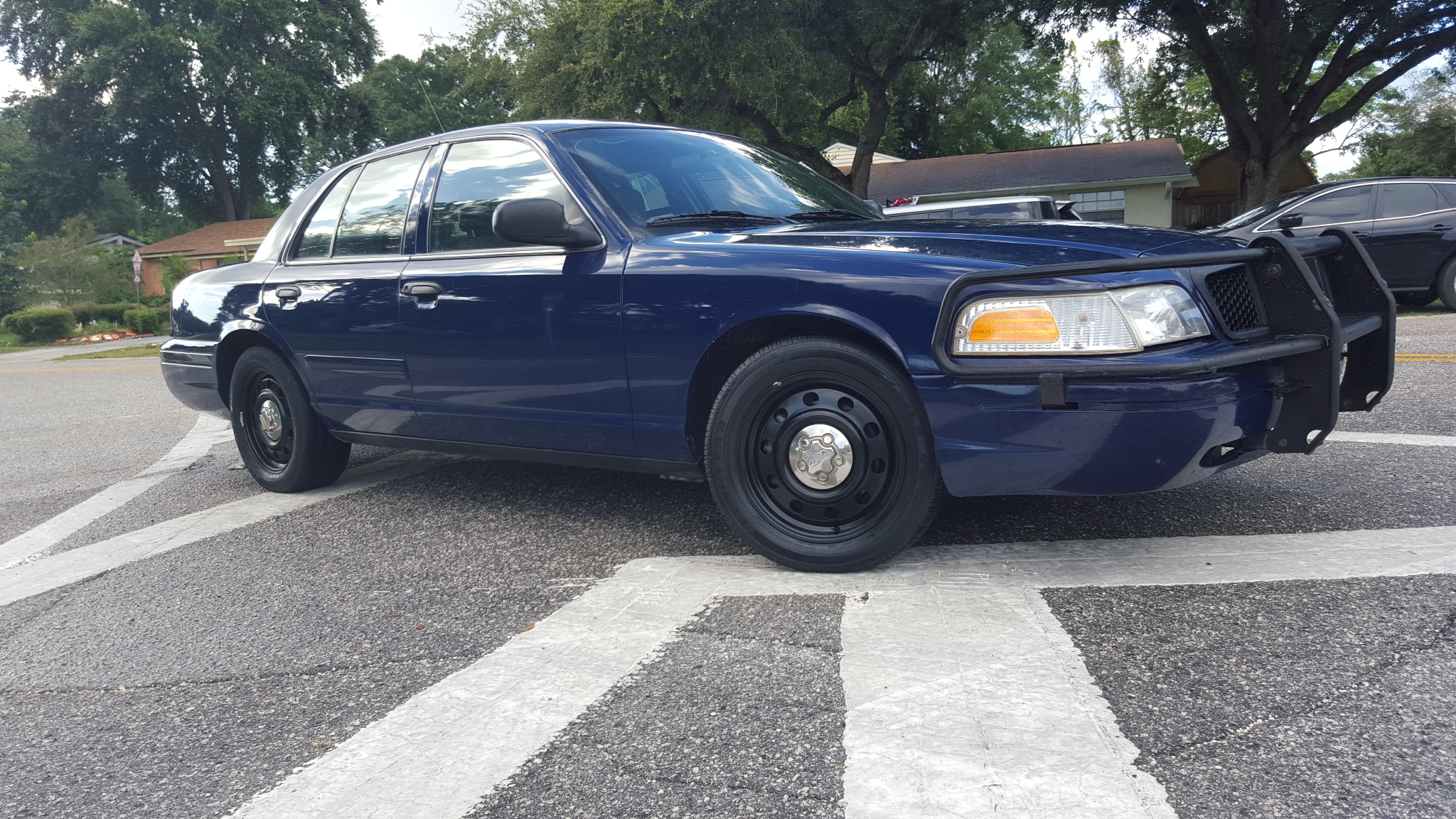 Ford Crown Victoria P71 Police Interceptors from SWPS.com  |Blue Ford Interceptor